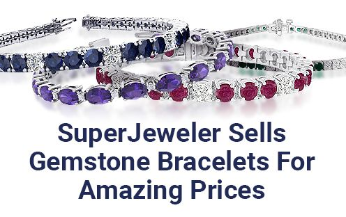 SuperJeweler Sells Gemstone Bracelet For Amazing Prices
