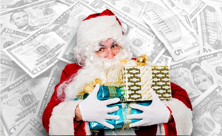 Super Saver Santa  Santa's Tight On Cash This Year  SuperJeweler Is Helping Out!