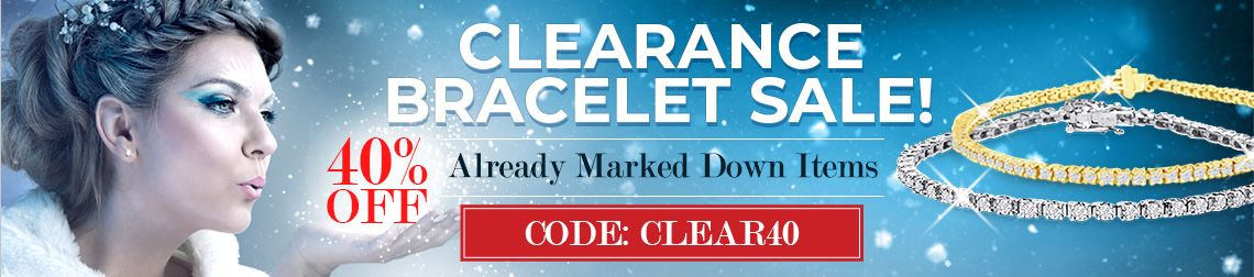 Clearance Bracelet Sale - 40% Off Already Marked Down Items. Code: Clear40