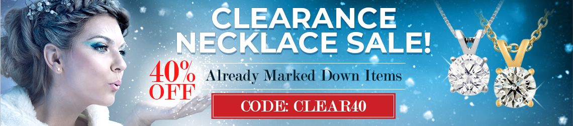 Clearance Necklace Sale - 40% Off Already Marked Down Items. Code: Clear40