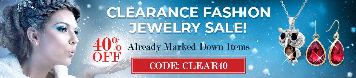 Clearance Fashion Jewelry Sale - 40% Off Already Marked Down Items. Code: Clear40
