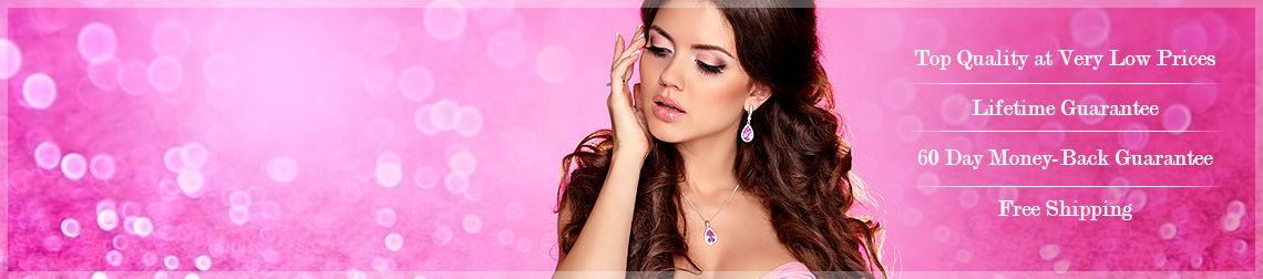 Pink Gemstone. Tremendous Selection! Top Quality at Very Low Prices | Lifetime Guarantee | 60 Day Money-Back Guarantee | Free Shipping