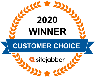 2020 Customer Choice Award Winner! by sitejabber