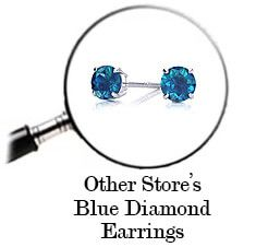 Other stores diamond earrings
