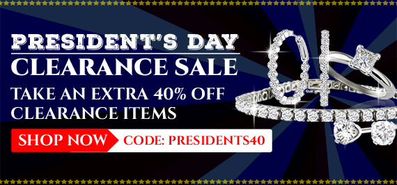 President's Day Clearance Sale - Take An Extra 40% Off Clearance Items