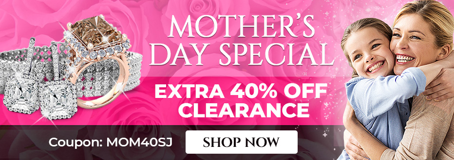 Mother's Day Special - Take An Extra 40% Off Clearance Items