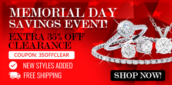 Memorial Day Clearance Event! Extra 35% Off Clearance Items