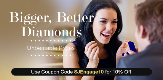 Get a Bigger Better Engagement Rings for much less!