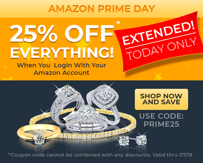 AMAZON PRIME DAY - 25% OFF EVERYTHING! When You  Login With Your Amazon Account