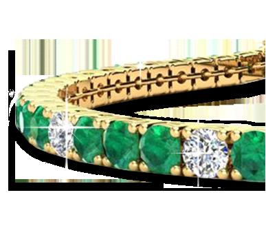 Gemstone Bracelets From SuperJeweler