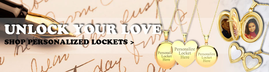 Unlock Your Love - Shop Personalized Lockets!