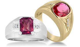 Men's Ruby Rings
