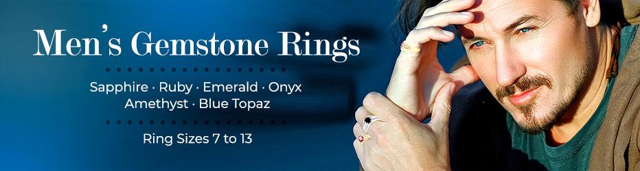 Men's Gemstone Rings