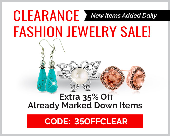 Clearance Fashion Jewelry Sale! Extra 35% Off Clearance