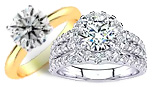 3 Carat Diamond Engagement Rings