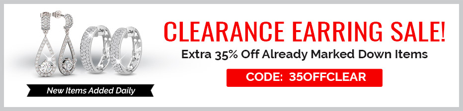 Clearance Earrings Sale! Extra 35% Off Clearance
