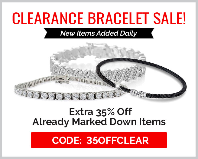 Clearance Bracelet Sale! Extra 35% Off Clearance