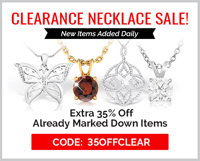 Clearance Necklaces Sale! Extra 35% Off Clearance