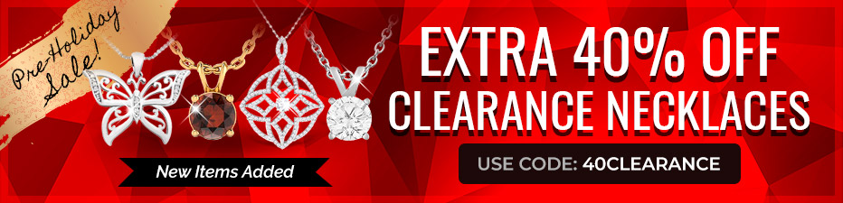 Clearance Necklaces Sale! Extra 40% Off Clearance