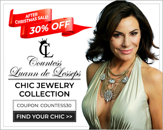 30% OFF - Countess Luann de Lesseps Presents Her Chic Jewelry Collection - Coupon: Countess30