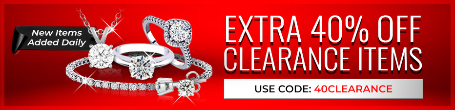 Extra 40% Off Clearance Sale