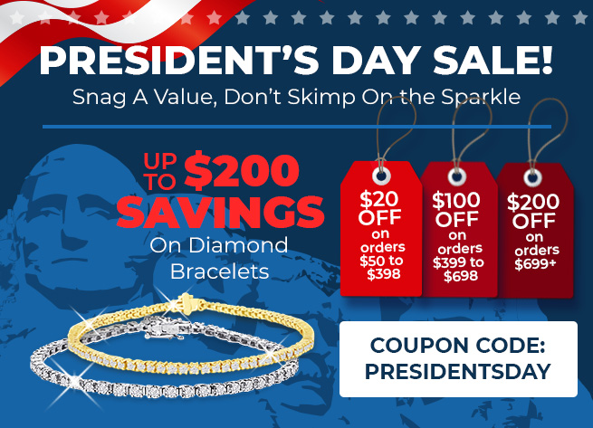 President's Day Sale! Up to $200 Savings - Coupon: presidentsday