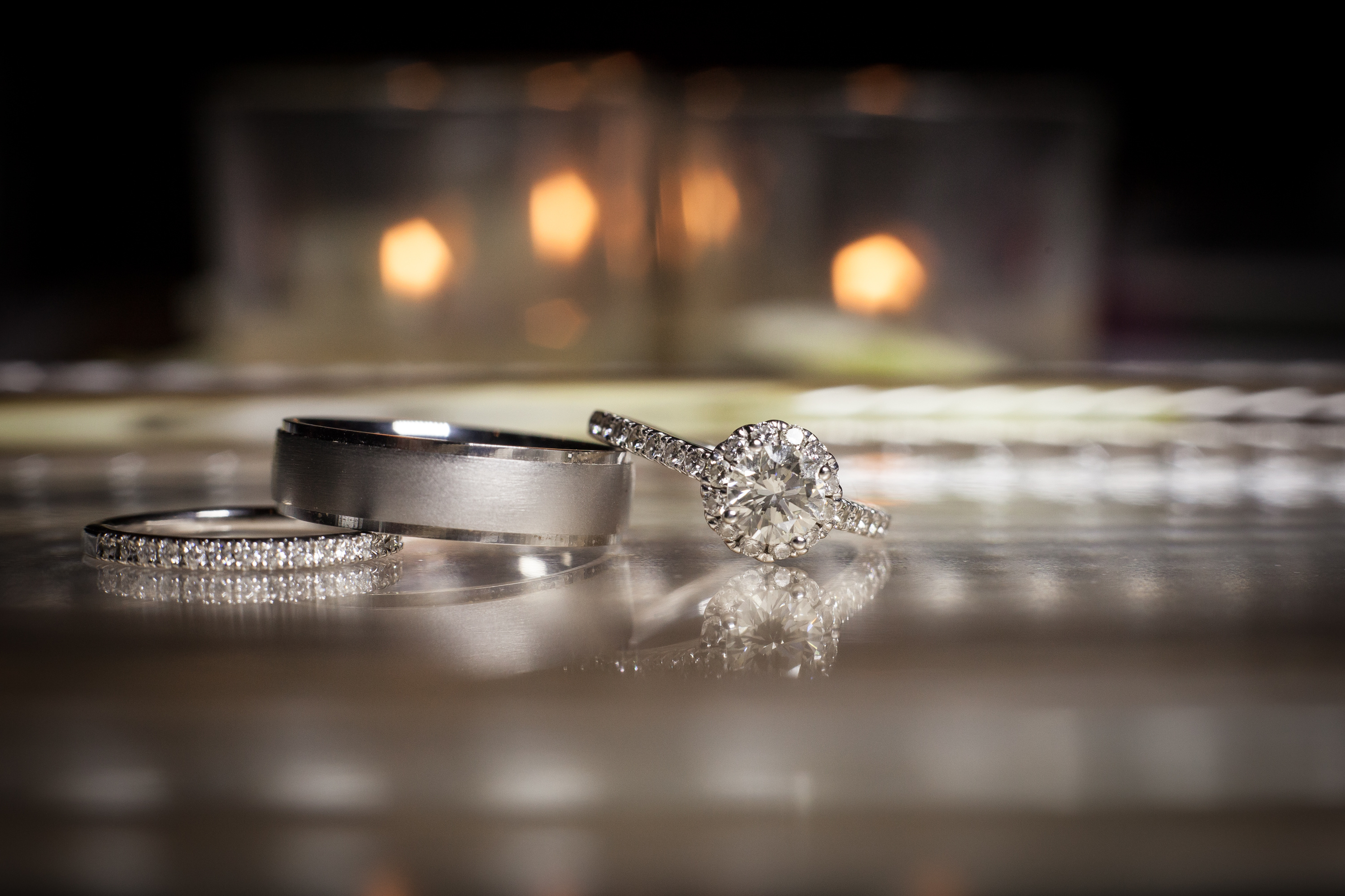 Wedding Bands - His & Hers