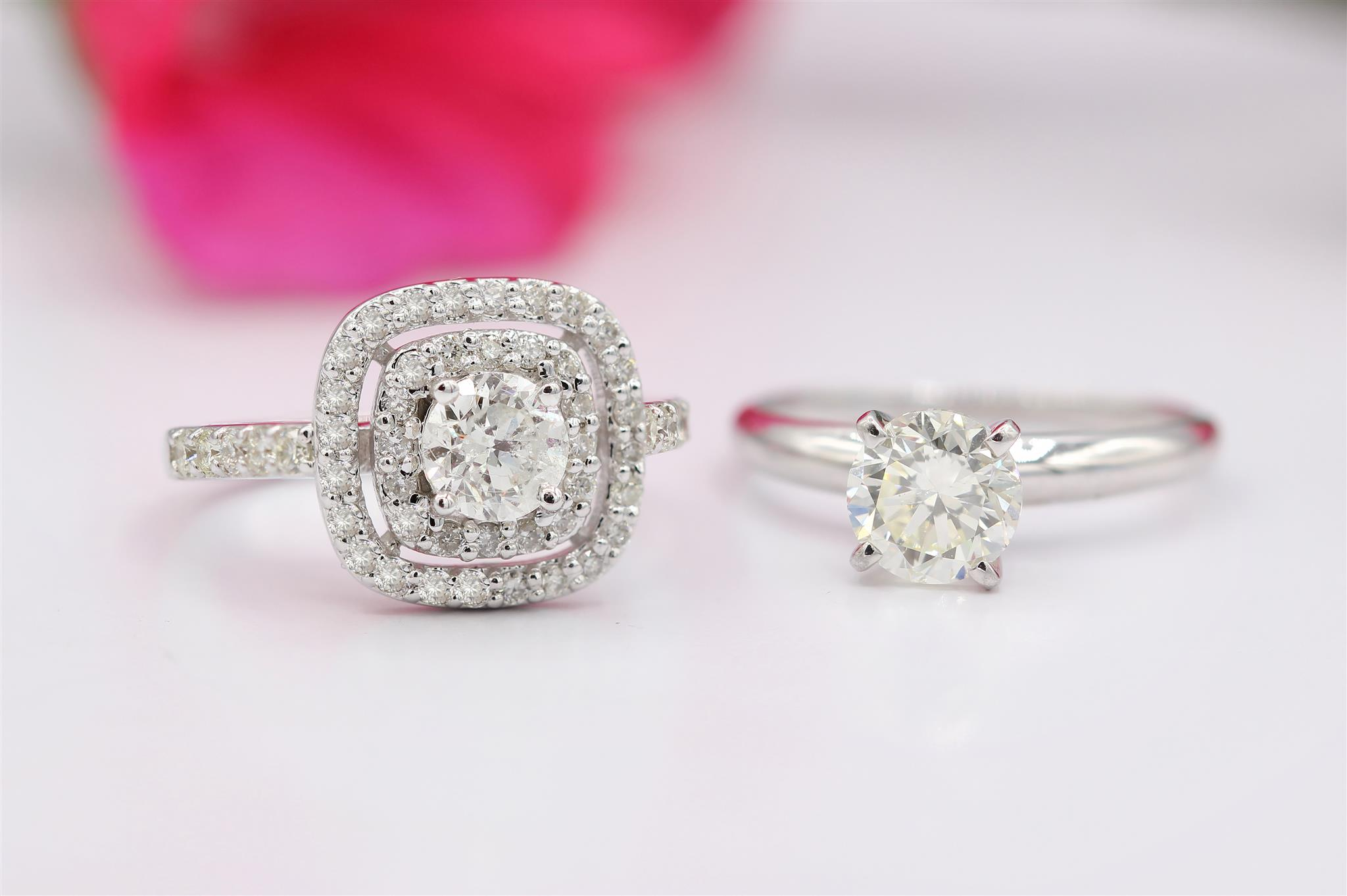 Classic and Simple or Huge and Glittering Rock