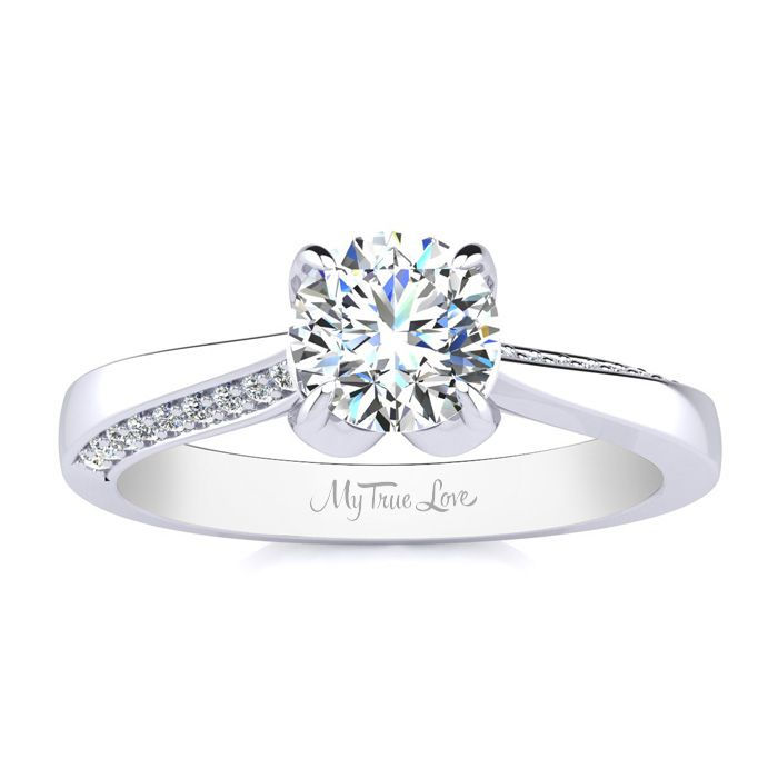 Engrave your diamond ring with SuperJeweler